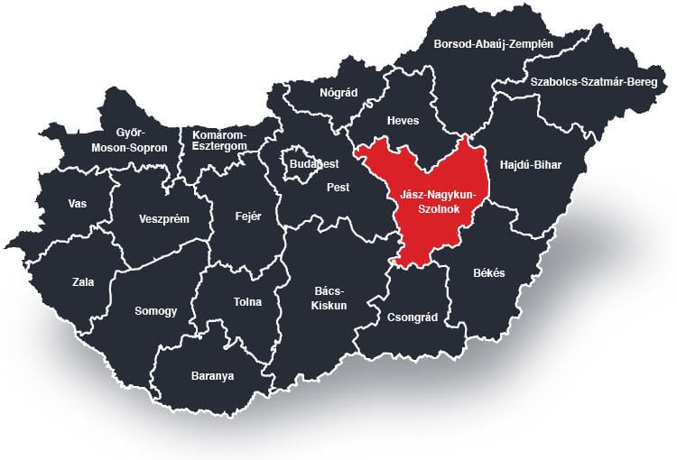 Szolnok és Jász-Nagykun-Szolnok Megye – Biztonsági ajtó beépítéssel