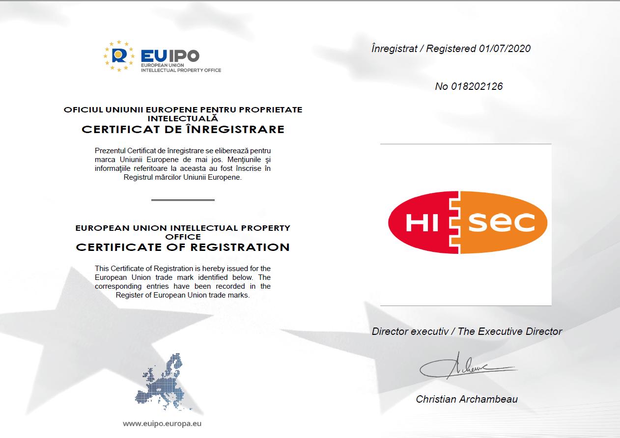 hisec-biztonsági-beltéri-ajtó-EU-vedjegy